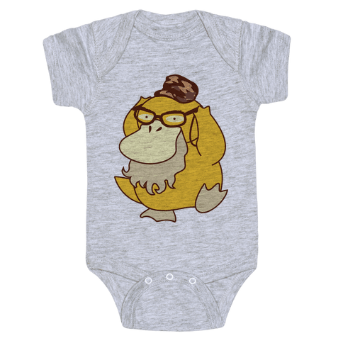 Si Duck (textless) Baby Onesy