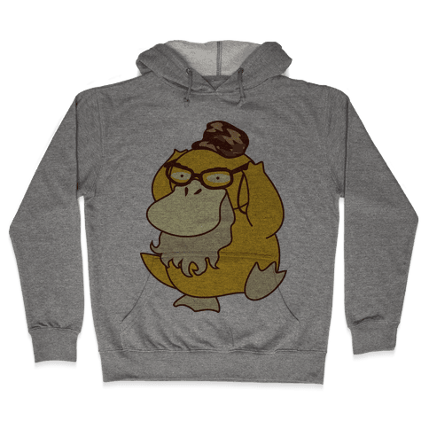 Si Duck (textless) Hooded Sweatshirt