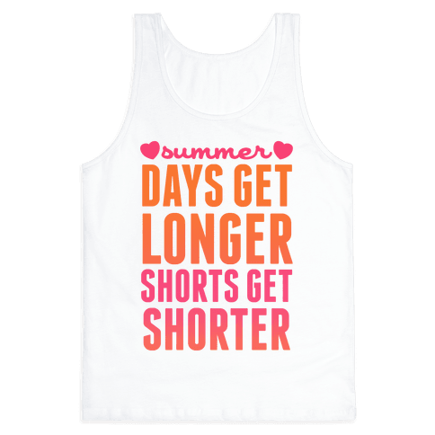 Summer (Days Get Longer, Shorts Get Shorter)