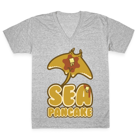Sea Pancake V-Neck Tee Shirt