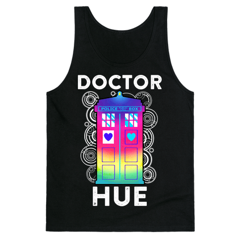 Doctor Hue (Doctor Who Parody) Tank Top