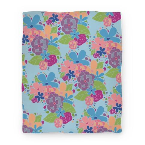 Flower Garden Blanket Blanket