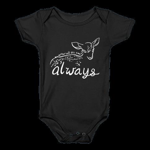 Always (Severus Snape) Baby Onesy