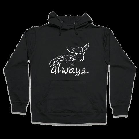 Always (Severus Snape) Hooded Sweatshirt