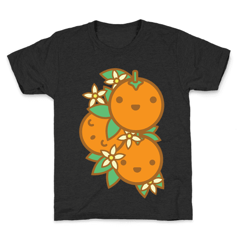 Kawaii Oranges Kids T-Shirt