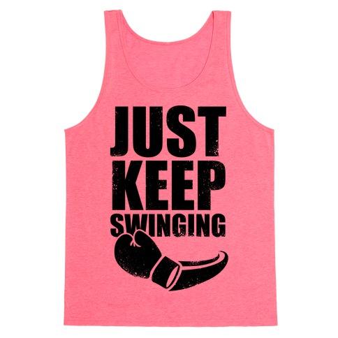 Just Keep Swinging (Vintage) Tank Top