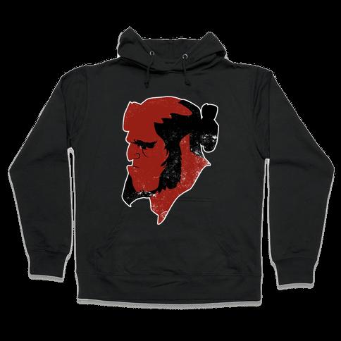 Hellboy Hooded Sweatshirt