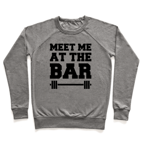 Meet Me At The Bar Pullover