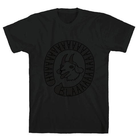 Yelling Goat Mens T-Shirt