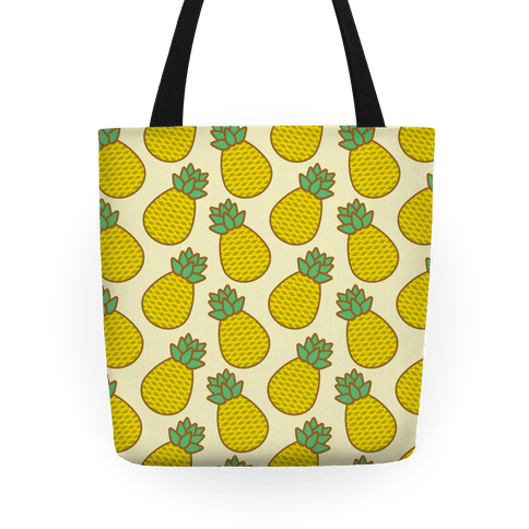 Pineapple Pattern Tote