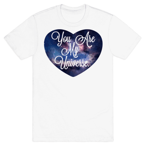 You Are My Universe (Tank) Mens T-Shirt