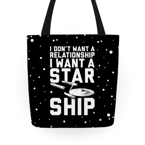 I Want A Starship Tote