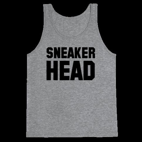 Sneaker Head Tank Top