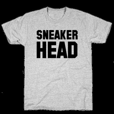 Sneaker Head Mens T-Shirt
