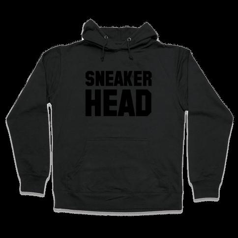 Sneaker Head Hooded Sweatshirt