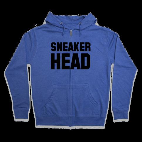 Sneaker Head Zip Hoodie