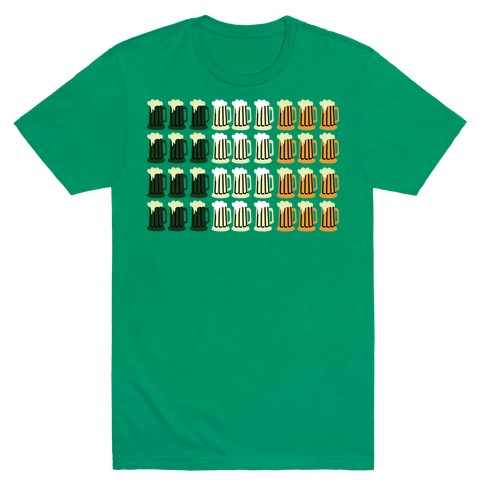 Irish Mug Flag Mens T-Shirt