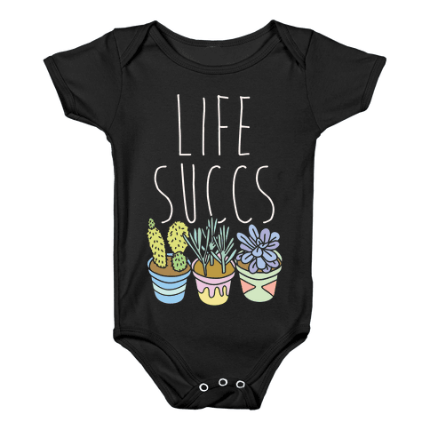 Life Succs Baby Onesy