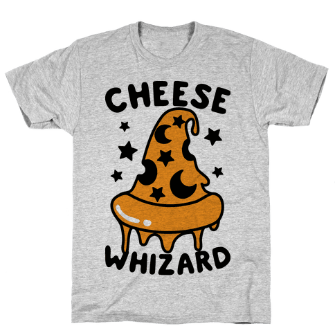 Cheese Whizard Mens T-Shirt