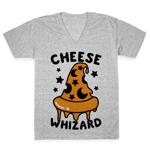 Cheese Whizard V-Neck Tee Shirt
