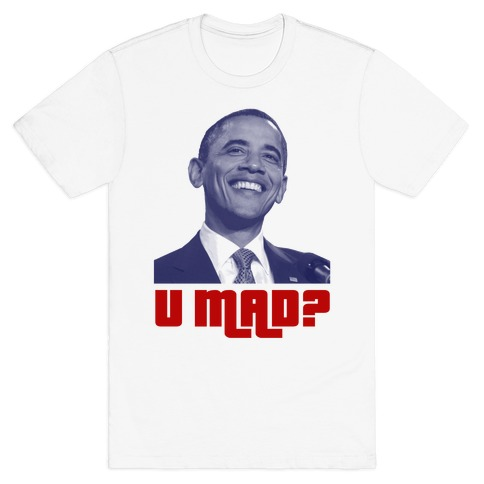 U Mad? Mens T-Shirt