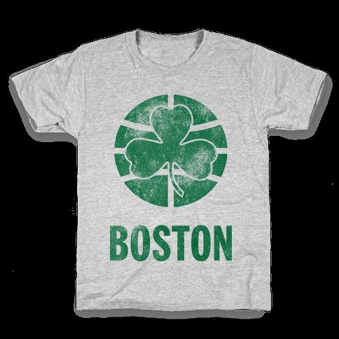 Boston (Vintage) Kids T-Shirt