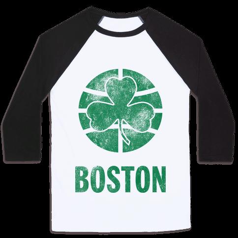 Boston (Vintage) Baseball Tee