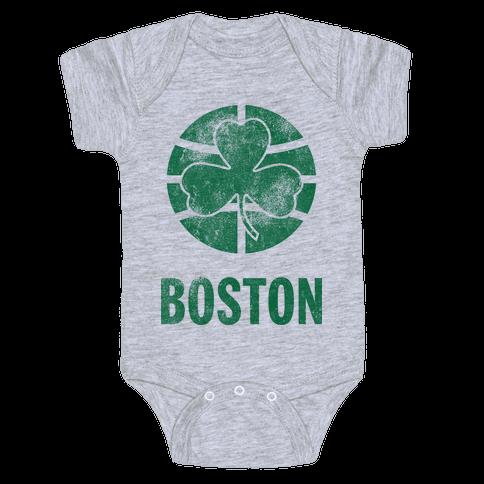 Boston (Vintage) Baby Onesy