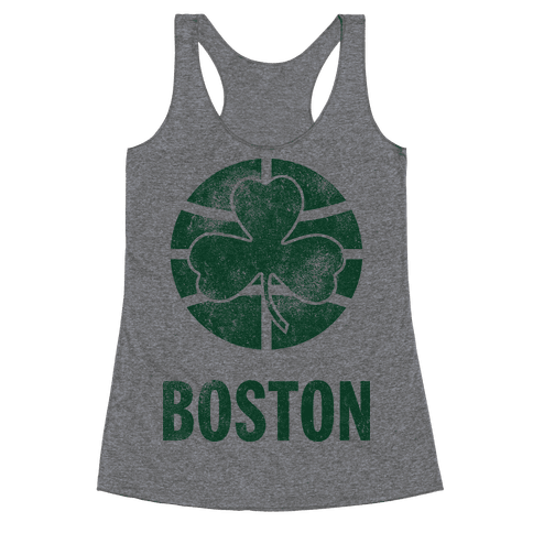 Boston (Vintage) Racerback Tank Top