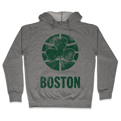 Boston (Vintage) Hooded Sweatshirt
