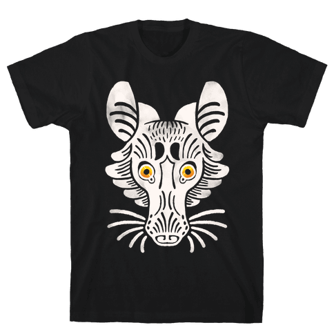 Symmetrical Gilded Fox Mens T-Shirt