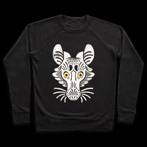 Symmetrical Gilded Fox Pullover
