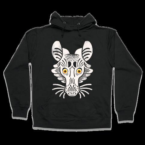 Symmetrical Gilded Fox Hooded Sweatshirt