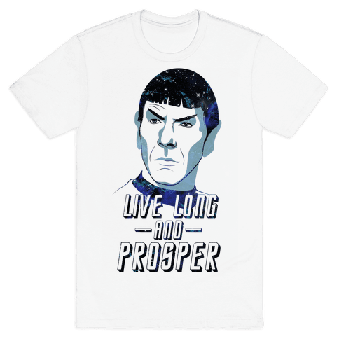 Live Long And Prosper Mens T-Shirt