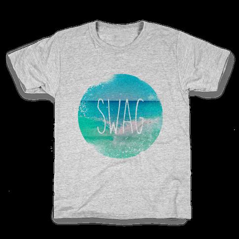Beach (Swag) Kids T-Shirt