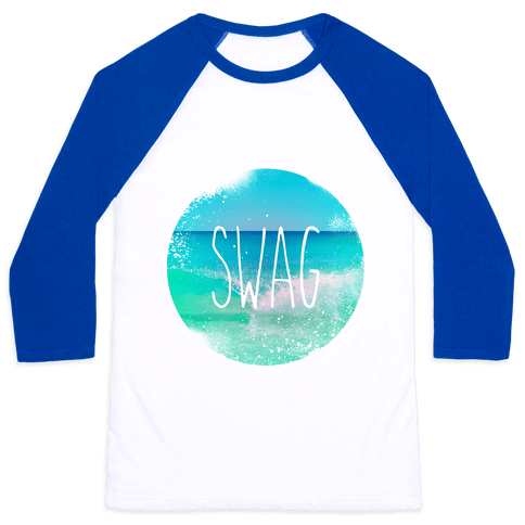 Beach (Swag) Baseball Tee