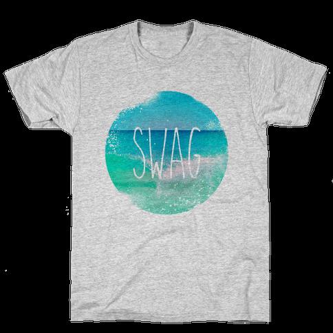 Beach (Swag) Mens T-Shirt