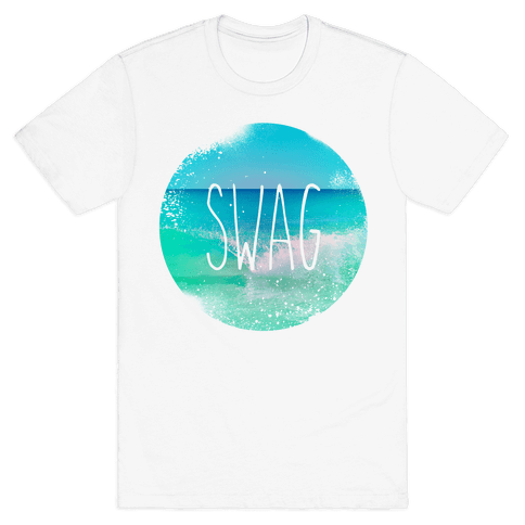 Beach (Swag) Mens T-Shirt