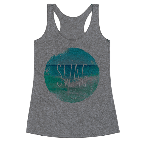 Beach (Swag) Racerback Tank Top