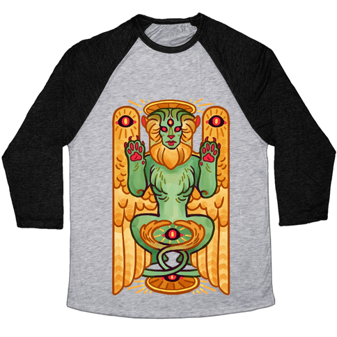 All-Seeing Sphinx Baseball Tee