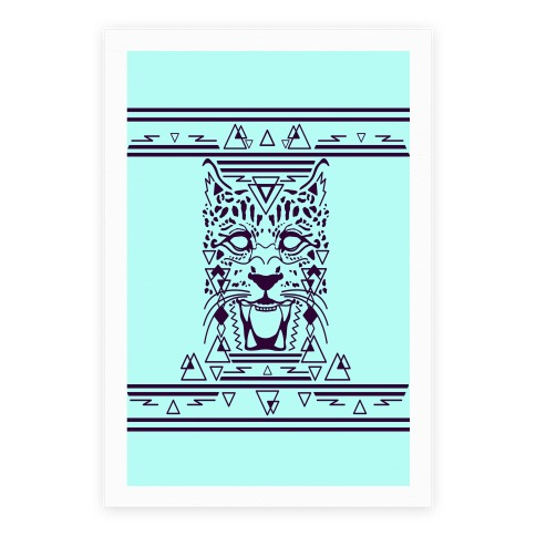 Egyptian Leopard Poster