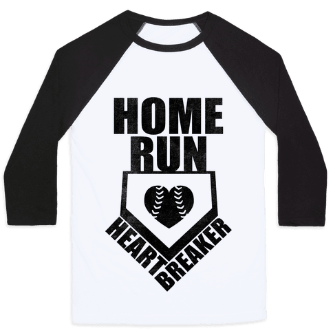 Home Run Heartbreaker (Baseball Tee) Baseball Tee