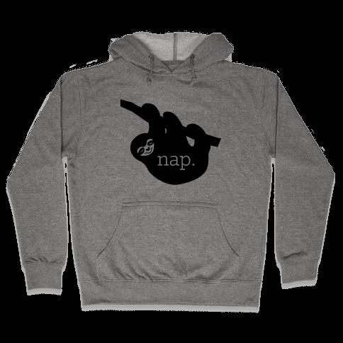 Sloth Nap Hooded Sweatshirt