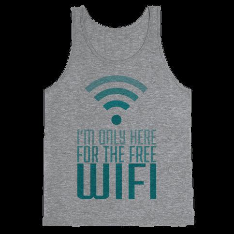 Free Wifi Tank Top