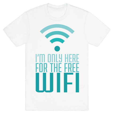 Free Wifi Mens T-Shirt