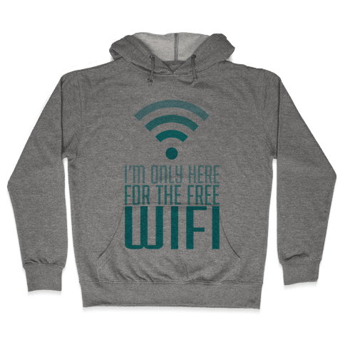 Free Wifi Hooded Sweatshirt