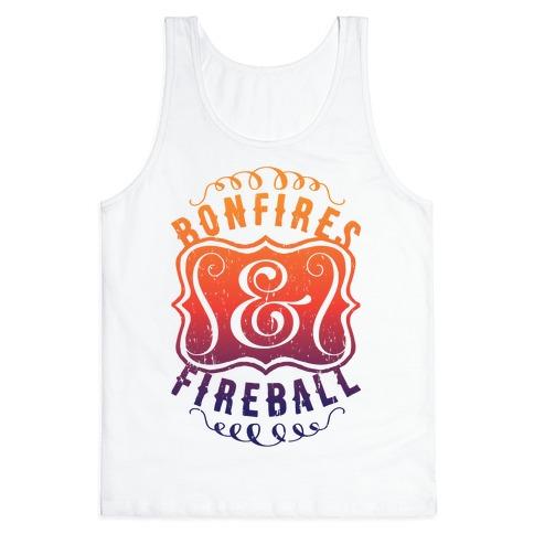 Bonfires And Fireball Tank Top