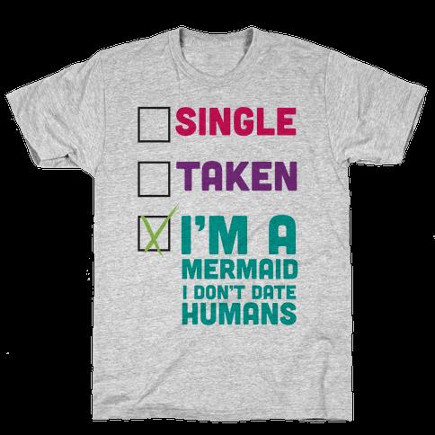 I'm a Mermaid Mens T-Shirt