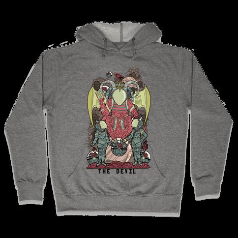 The Devil in Space Hooded Sweatshirt