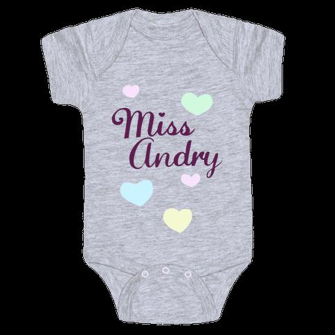 Miss Andry Baby Onesy